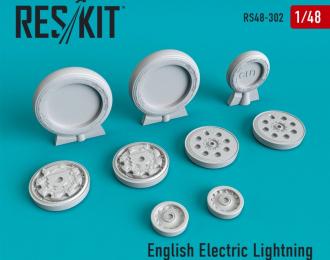 English Electric Lightning поздний тип смоляные колеса