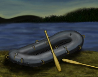 Сборная модель  WWII German Rubber Raft