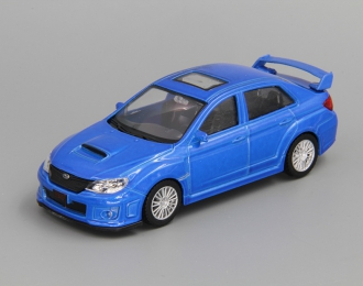 SUBARU Impreza WRX STI, blue