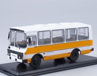 Павловский автобус 32051 городской, бело-оранжевый