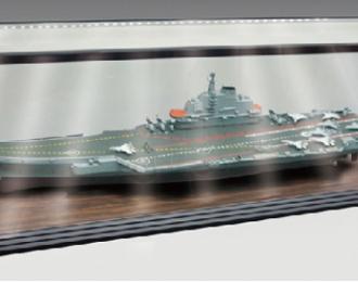 Бокс для моделей с LED подсветкой (Корабли 1/200 и 1/350) размер 1250х340х385 мм