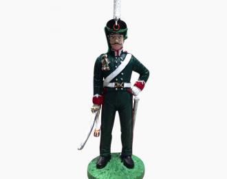 Фигурка Унтер-офицер Лифляндского конно-егерского полка, 1812–1814