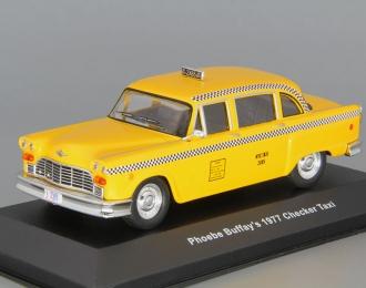 "CHECKER Taxi Cab из телесериала ""Друзья"" (1977), yellow"
