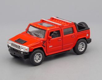 HUMMER H2 SUT Pick-up (2005), red