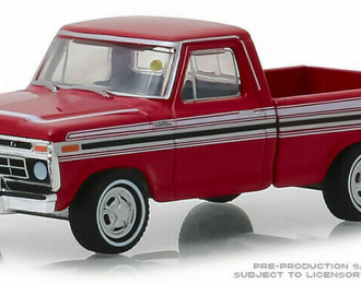 FORD F-100 пикап 1977 Red (Kissimmee 2018)