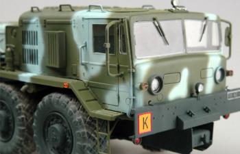 Сборная модель МАЗ-537Л