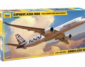Сборная модель Пассажирский авиалайнер Аэробус А350-1000