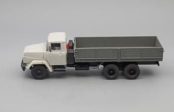 КРАЗ 250 бортовой поздний (1985-1995), серый