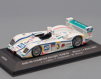 AUDI R8 CHAMPION RACING TEAM #3 J.J.Lehto-T.Kristensen-Werner  WINNER LE MANS '05