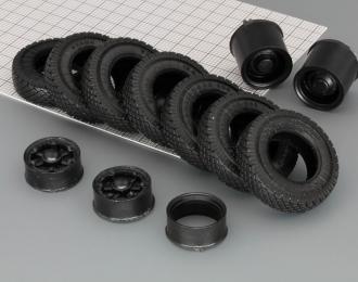 Резина, диски для МАЗ 4х2, компл. из 4-х колес