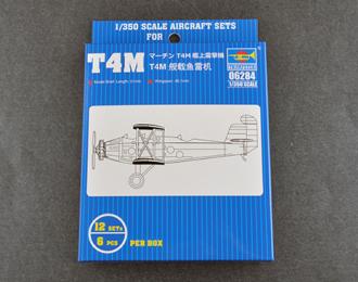 Сборная модель Американский палубный бомбардировщик-торпедоносец Martin T4M (1:350, Trumpeter)