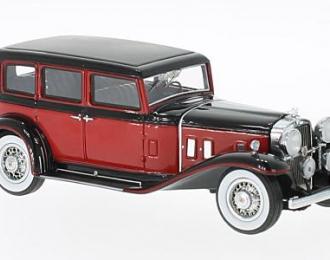 STUTZ SV-16 Sedan 1933 Red/Black
