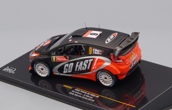FORD FIESTA RS WRC 9 M.Wilson/S.Martin Rally Monte Carlo 2012, black