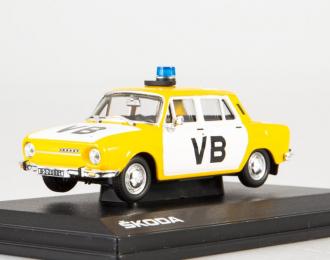 Skoda 120L VB, yellow / white