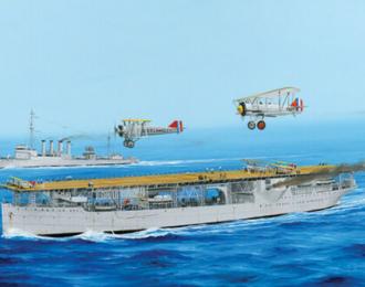 Сборная модель Корабль USS Langley CV-1