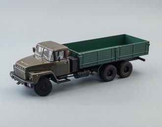 (Конверсия!) КРАЗ 250 бортовой (1977-1989), серо-зеленый