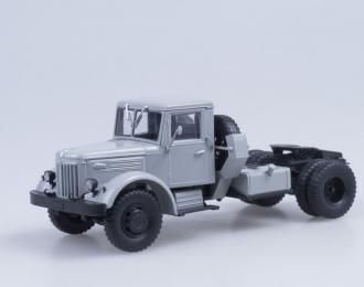 МАЗ 200В седельный тягач, серый