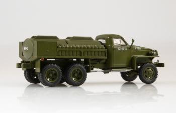 Studebaker US6 U5 цистерна, хаки