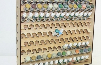 Полка подвесная под баночки 26,5 мм. Pacific88-AERO и Art-color