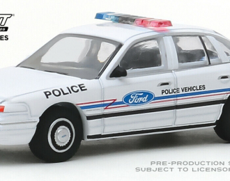 "FORD Crown Victoria Police Interceptor ""Ford Police Vehicles Show Car"" 1993"