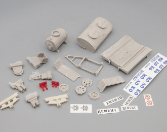 Набор для конверсии АЦПТ-2,1А Молоко (на шасси Горький-51А) + прицеп-бочка