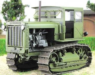 Сталинец С-65 с кабиной, хаки