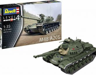 Сборная модель Танк M48 A2CG