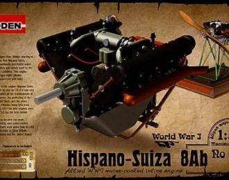 Набор для доработки Британский авиадвигатель Hispano-Suiza 8Ab