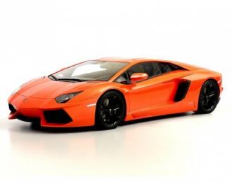 Lamborghini Aventador, KYOSHO original resin collection, orange