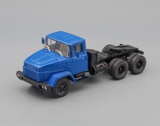 КРАЗ 6444 седельный тягач (1985-1994), синий