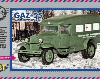 Сборная модель Советский санитарный автомобиль  (1938)