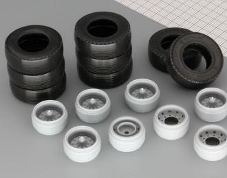 Резина, диски для Евро Фура (обновленные), компл. из 8 колес
