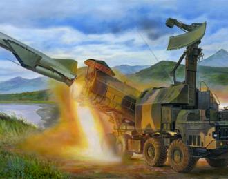 Сборная модель ракетный комплекс Russian 4K51 Rubezh Coastal ASM with P-15