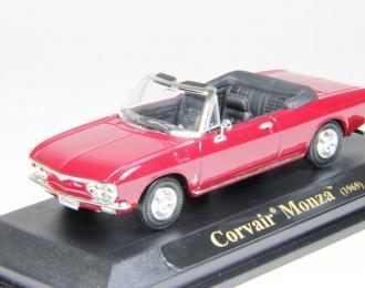 CHEVROLET Corvair Monza (1969), dark red
