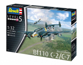 Сборная модель Messerschmitt Bf110 C-2/C-7