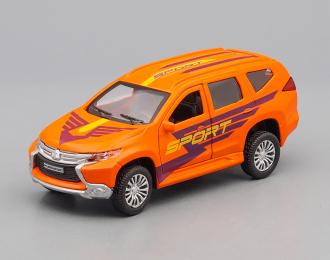 MITSUBISHI Pajero Sport, orange
