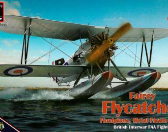 """Сборная модель Истребитель Fairey """"Flycatcher"""""""