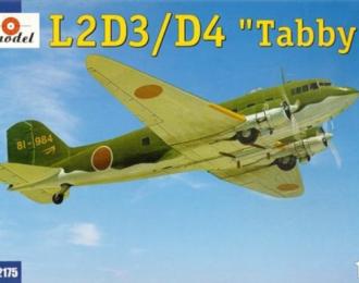 """Сборная модель Японский транспортный самолет Showa L2D3 / D4 """"Tabby"""" (Douglas DC-3)"""