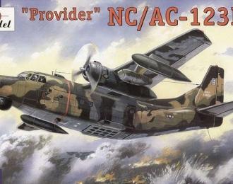 """Сборная модель Американский военный самолёт Fairchild NC / AC-123k """"Provider"""" («Блэк Спот»)"""