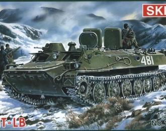 Сборная модель Советский артиллерийский тягач МТ-ЛБ