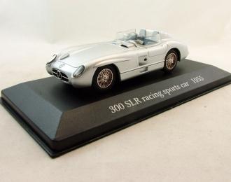 MERCEDES-BENZ 300 SLR Racing Sports Car (1955), Mercedes-Benz Offizielle Modell-Sammlung 32, серебристый