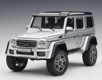 Mercedes-Benz G500 4X4² 2016 (silver)