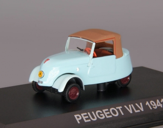 PEUGEOT VLV, blue / brown