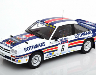"OPEL Manta 400 #2 ""Rothmans"" Toivonen/Gallagher RAC Rally 1983"
