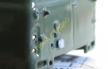 Фонарь заднего хода ФП-135 (врезной корпус), комплект 10 шт., прозрачный