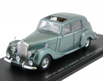 BENTLEY Type R Mark VI Standard Steel Sports Saloon (1952), blue