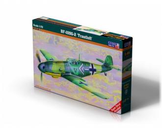"""Сборная модель Самолет Bf-109G-2 """"Trautloft"""""""