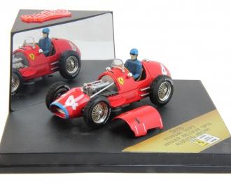 FERRARI 500F2 #4 Winner Belgium GP52 Alberto Ascari (1952), red