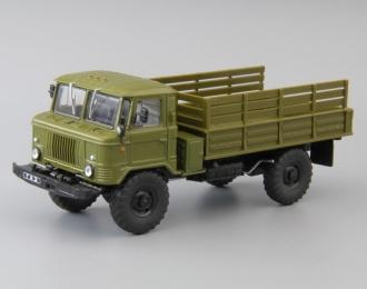 Горький-66 бортовой, Грузовики СССР 40, хаки