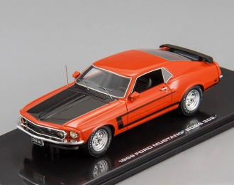 FORD Mustang Boss 302 (1969), calypso coral red